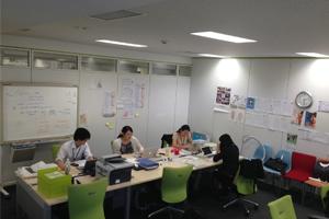Teach For Japan 恵比寿オフィスの様子